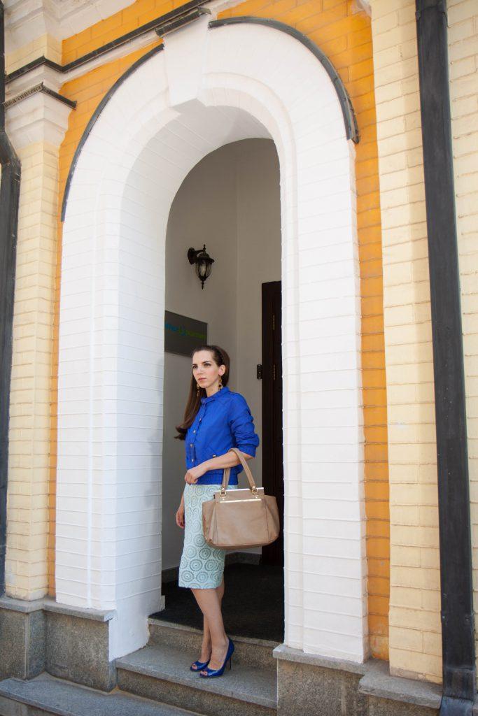 Элегантная женственная юбка Daily Look 1