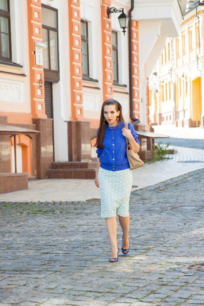 Элегантная женственная юбка Daily Look 2