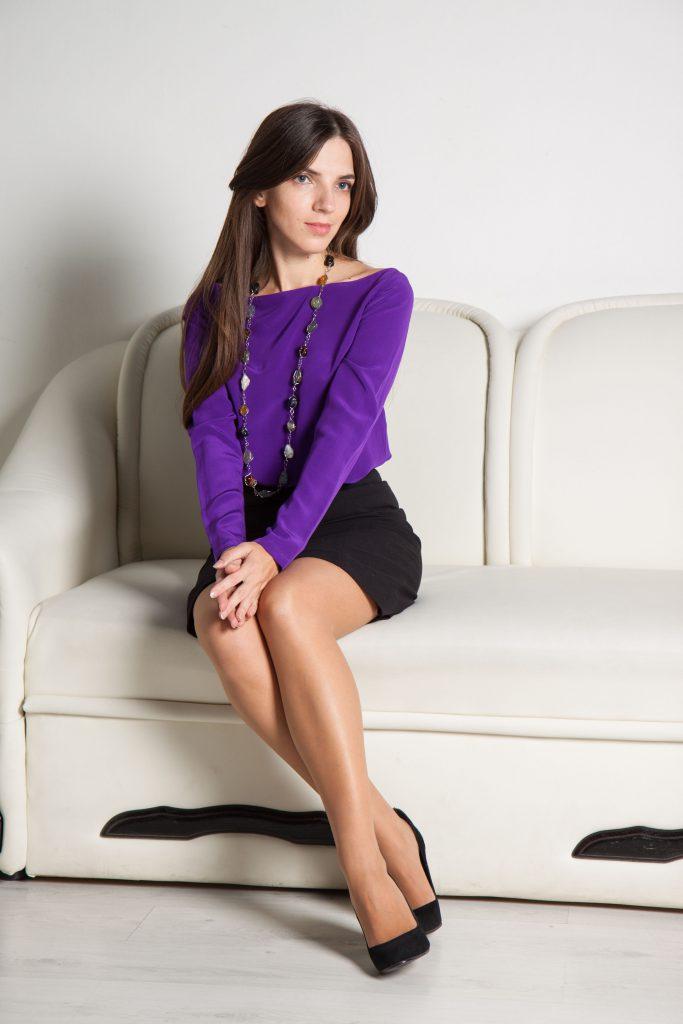 Черная юбка-карандаш в Daily Look 4