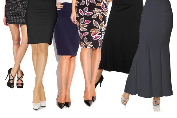 юбки разной длины