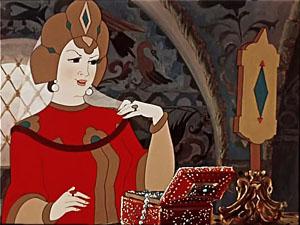 царевна с зеркалом