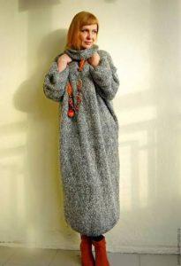 платье-свитер, фото 29| Вика Барва