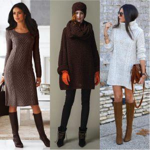 платье-свитер, фото 1 | Вика Барва