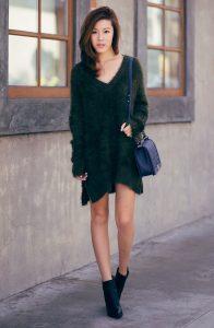 оверсайз платье-свитер, фото 2 | Вика Барва