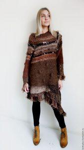 платье-свитер, фото 3 | Вика Барва