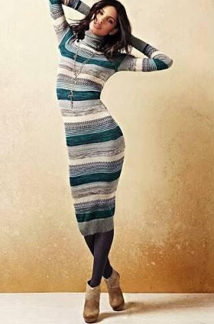 платье-свитер, фото 9   Вика Барва