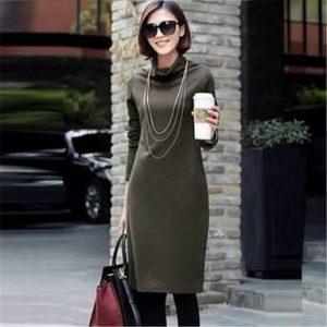 элегантное платье-свитер, фото 2 | Вика Барва