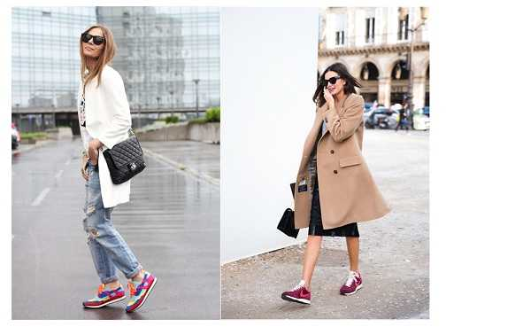Яркие модели кроссовок
