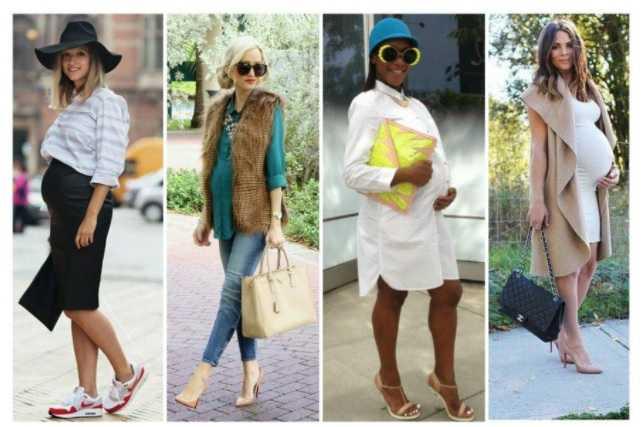 стиль одежды для беременных